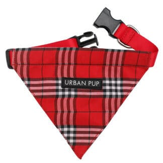 Urban Pup Hundscarf Röd