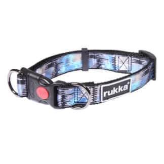 Rukka Ripple halsband blå mix