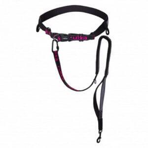 Rukka Hike Joggingbälte svart/rosa