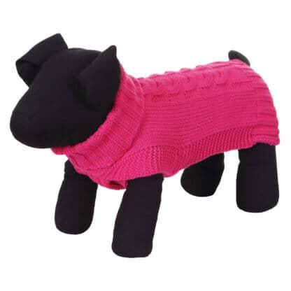 Rukka Wooly hundtröja rosa