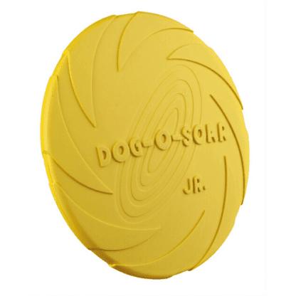 Trixie flytande frisbee gul
