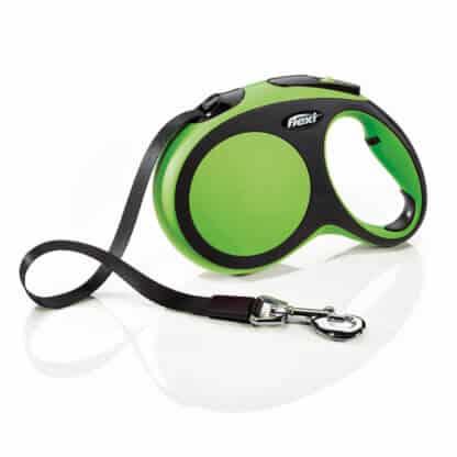 Flexi New Comfort Grön L 5m med band hos Hundliv