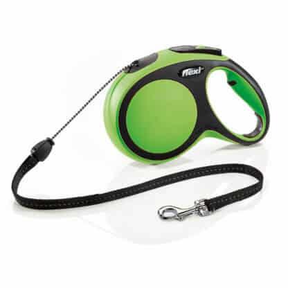 Flexi New Comfort Grön M 5m med lina hos Hundliv