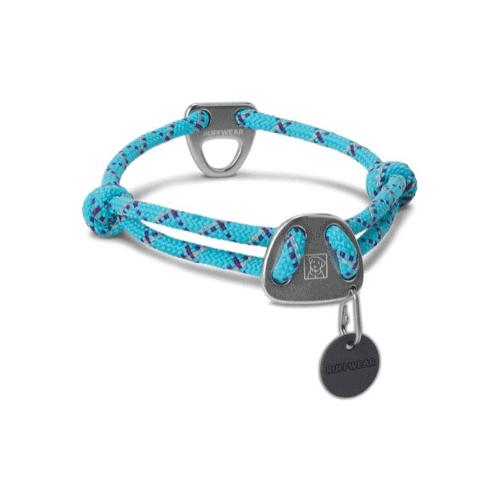 Knot a Collar hundhalsband blå hos Hundliv