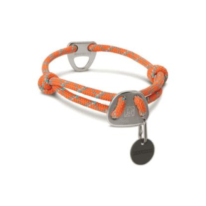 Knot a Collar hundhalsband orange hos Hundliv