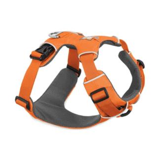 Ruffwear Front Range hundsele orange hos Hundliv