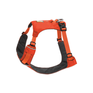 Ruffwear Hi- Light hundsele orange hos Hundliv