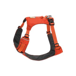 Ruffwear Hi- Light hundsele orange hos Hundliv