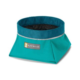 Ruffwear Quencher reseskål blå hos Hundliv