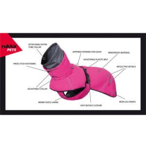 Rukka Warmup vintertäcke - rosa