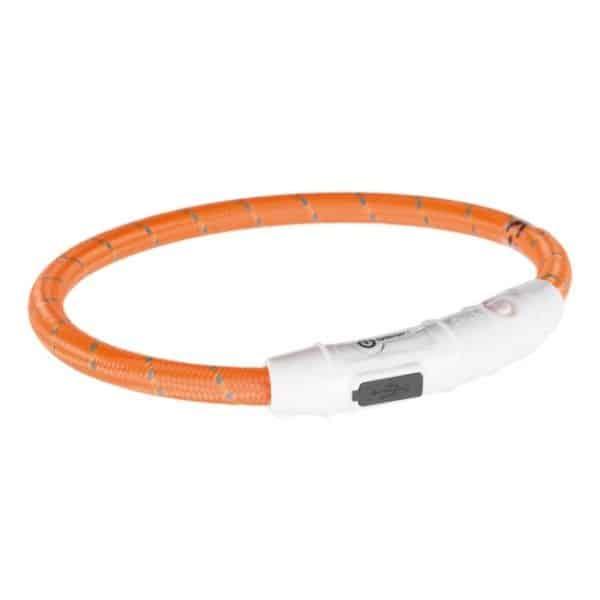 Trixie Flash Light Ring haslband orange