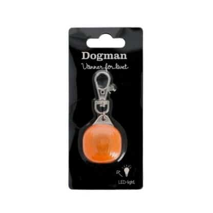 Dogman burger blinker led lampa orange