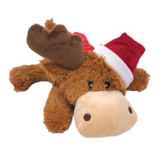 KONG Julleksak Cozie Reindeer Brun M 15cm