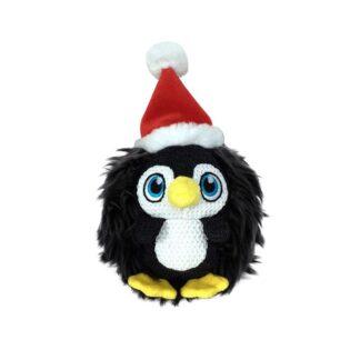 KONG Julleksak ZigWigz Penguin Svart M 19cm